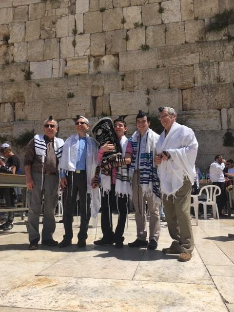 Bar Mitzvah Ceremony at the Western Wall