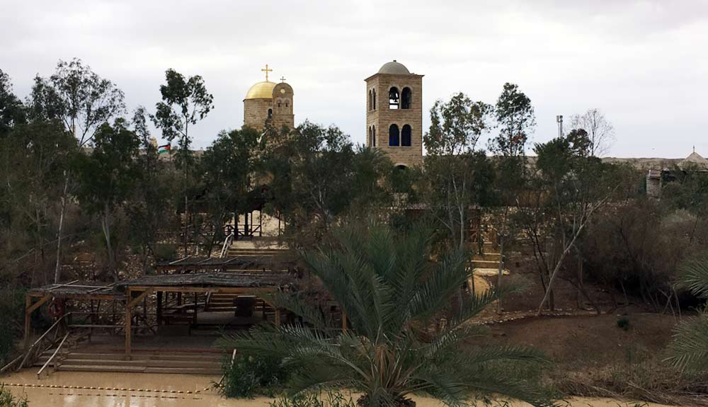 JORDAN RIVER BAPTISM SITE TOUR