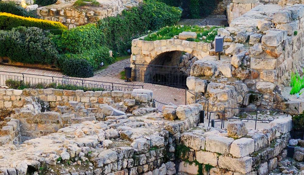CITY OF DAVID AND UNDERGROUND JERUSALEM TOUR