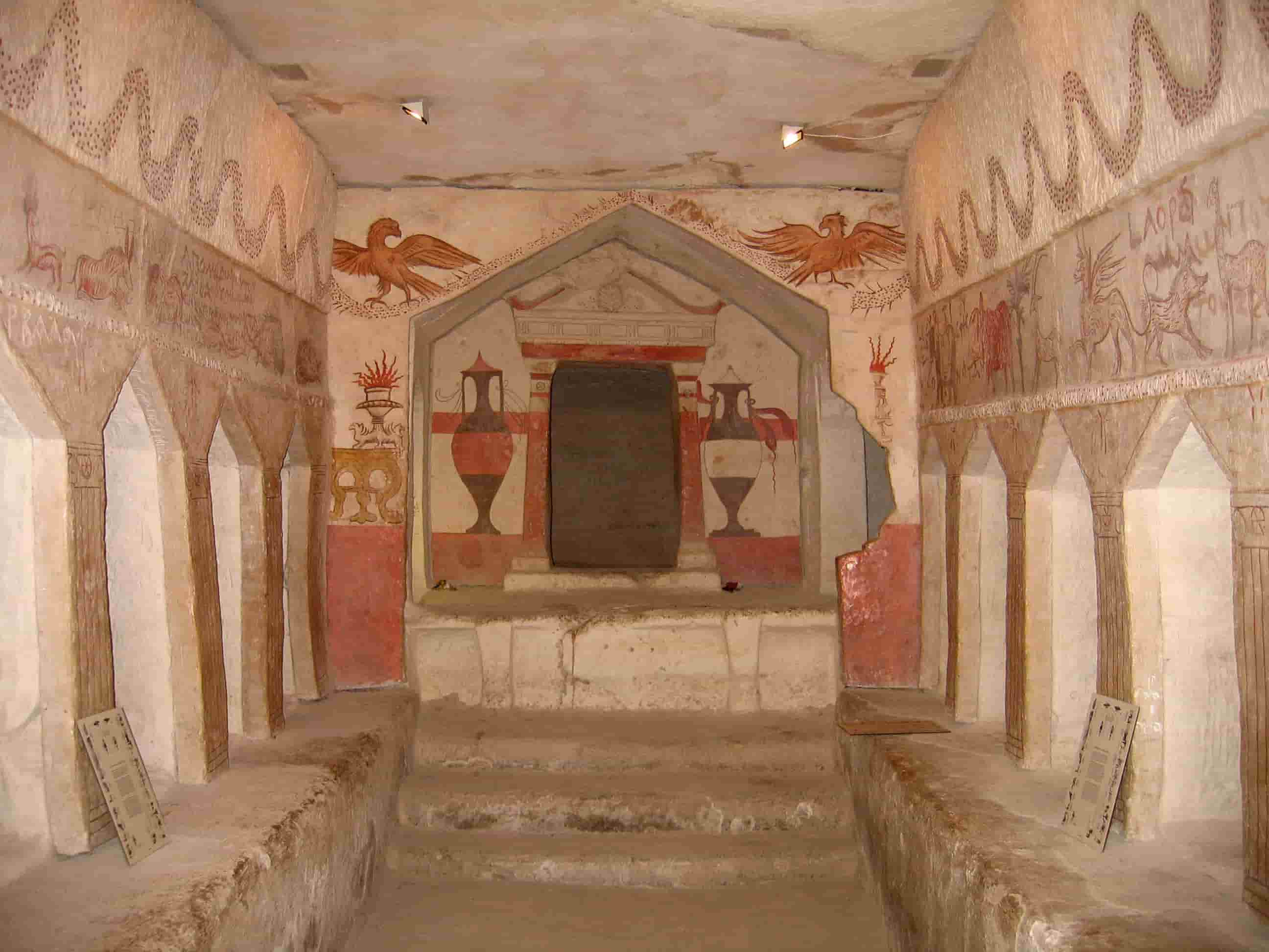 guided tours in israel Sidonian Burial Caves